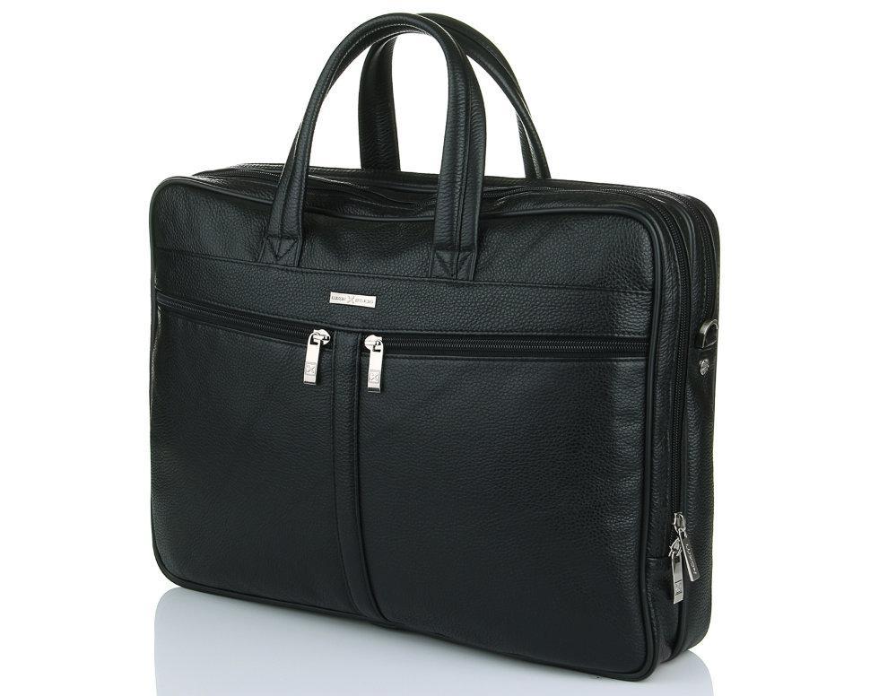 Кожаная сумка для ноутбука Luxon 62489