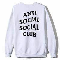 Свитшот A.S.S.C. Anti Social social club Женский