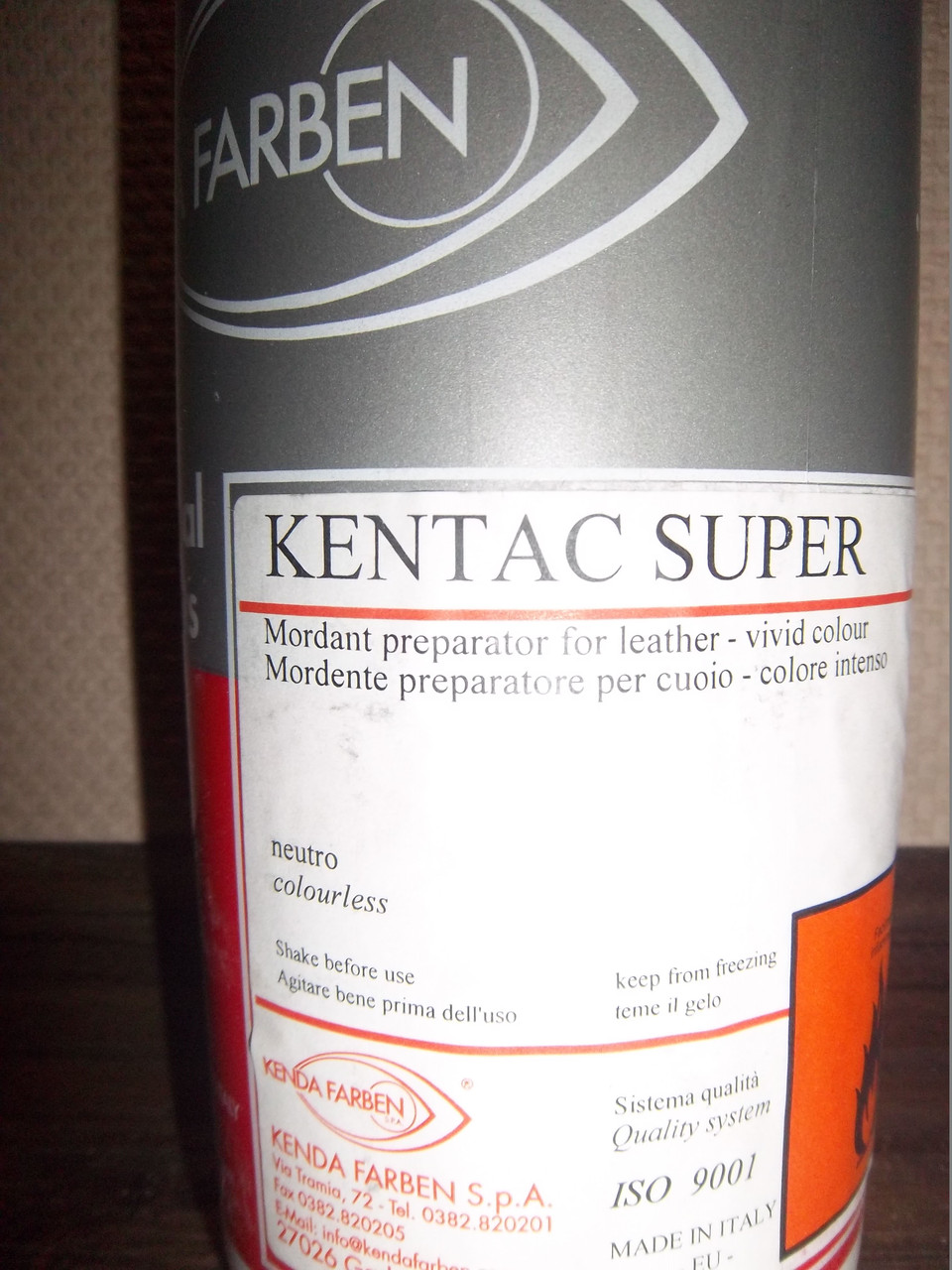 KENTAC SUPER 1л Бесцветный