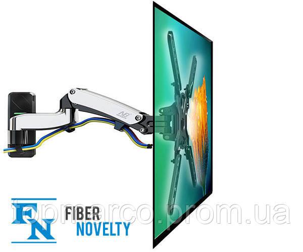 F450 - Прочный, вращающийся, настенный кронштейн на газовой пружине для ЖК-телевизоров, LED 40