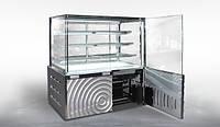 Кондитерская витрина Дакота Куб 900 1,5 ВХК(Д) Технохолод (холодильная)