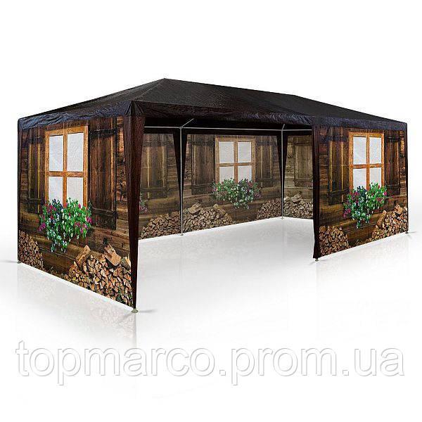 Садовый павильйон беседка, торговая палатка 3х6м