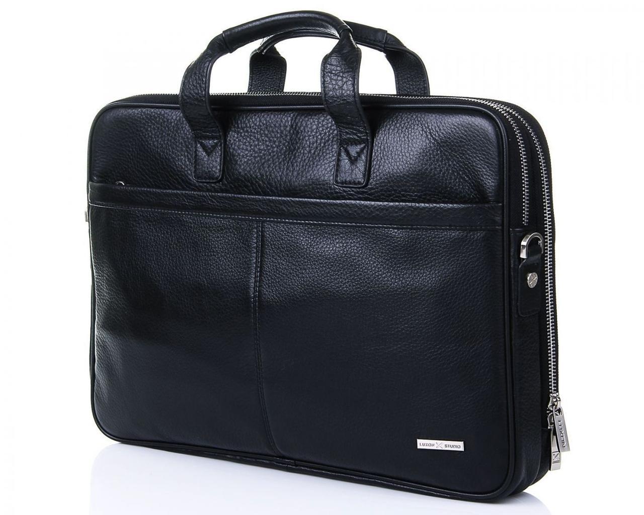 Кожаная сумка для документов Luxon 4742-1