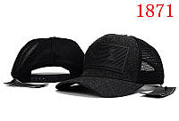 Кепка мужская Armani Exchange. Кепка женская. Бейсболка | AX черная с серым