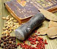 Пестик для ступки мраморный чёрный (4х4х11,5 см)
