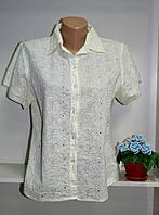 Блузка летняя батисто короткий рукав, фото 1