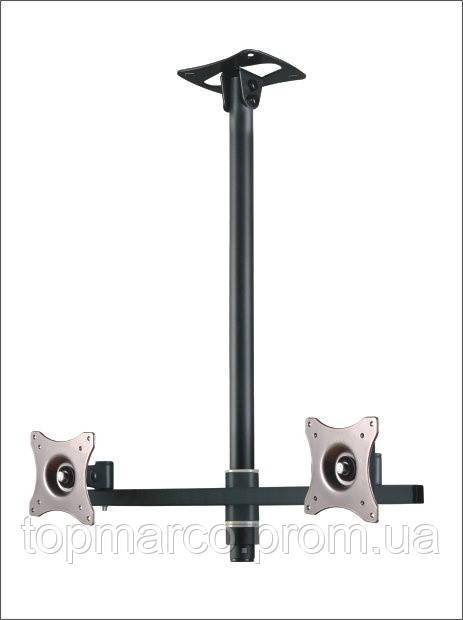 SV33 - Потолочный кронштейн для двух мониторов 19