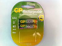 Аккумулятор GP AAA NiMH R03 1000 mAh  (100AAAHC), фото 1