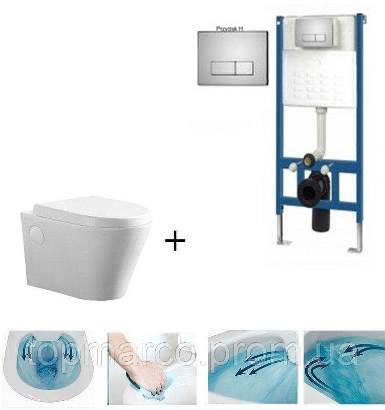 Инсталляция для туалета DURSAN MALMO T006