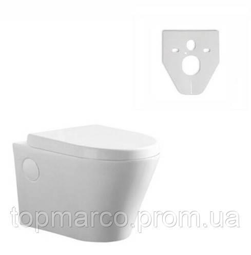 Инсталляция для туалета DURSAN MALMO T006 2