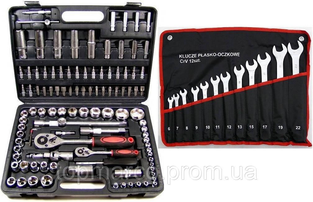 Набор инструментов 109шт + ключи