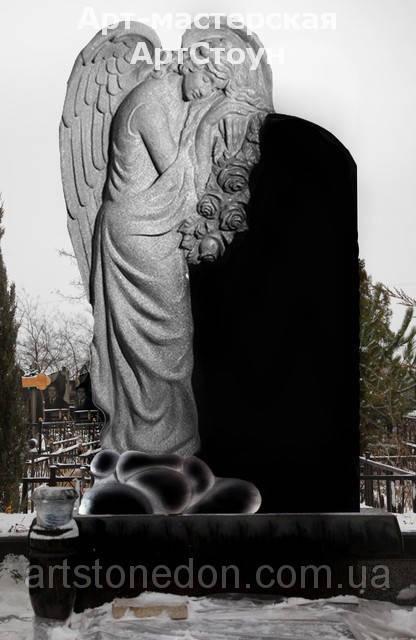 Элитный памятник Ангел из гранита