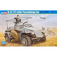 Пластиковая модель бронеавтомобиля Sd.Kfz.223 Leichter Panzerspahwagen Funk (код 200-266670)
