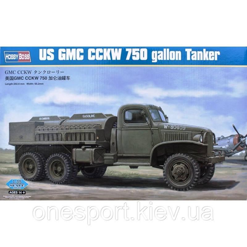 Грузовик GMC CCKW 750 gallon Tanker Version + сертификат на 50 грн в подарок (код 200-266763)