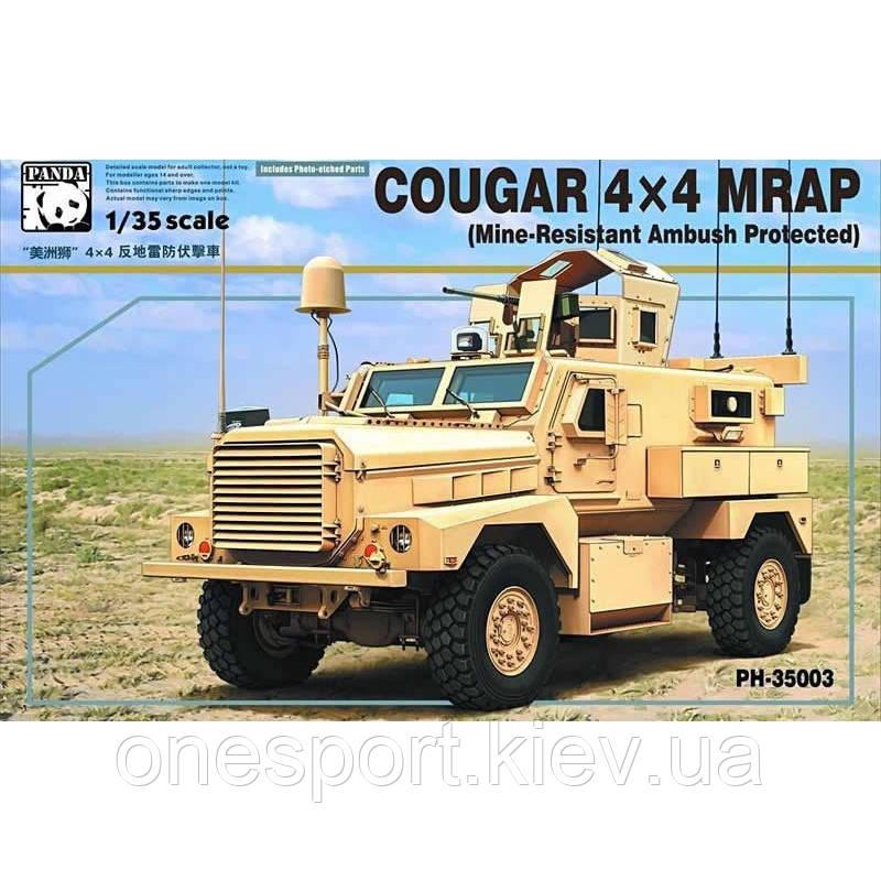 Бронеавтомобиль Cougar 4X4 MRAP + сертификат на 50 грн в подарок (код 200-266895)