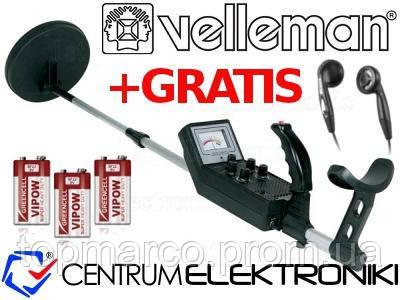 Металошукач KIT Velleman CS150 Бельгія !!!