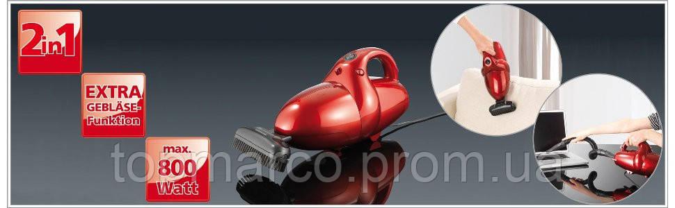 Ручний Пилосос 2 в 1 Cleanmaxx Power Plus 800W! 4