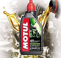 Моторное масло для скутера Motul Scooter Expert 4T SAE 10W40 1L MB