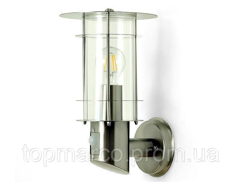 Настенный бра светильник E27 GAR7 IP44 с датчиком движения