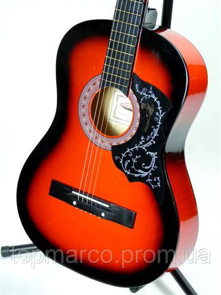 Музыкальный инструмент Классическая Гитара 3/4 - 6 Цветов - Комплект + Ремень
