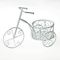 Велосипед-кашпо миниатюра