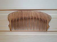 Гребень для волос деревянный, частые зубья