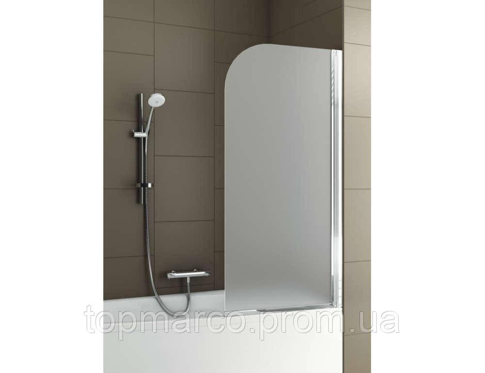 Шторка для ванны AQUAFORM Modern 1  67х140 см, стекло - сатинато, левая