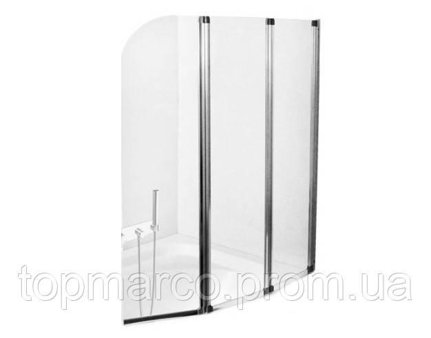 Шторка для ванны  Besco PMD Ambition - 3 120x140