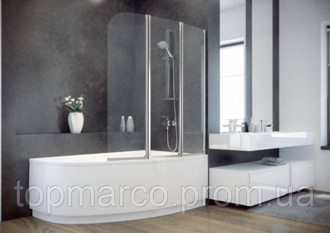 Шторка для ванны  Besco PMD Ambition - 3 120x140 2