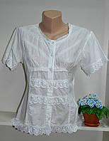 Блузка летняя хлопковая  короткий рукав, фото 1