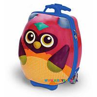 "Детский чемодан на колесах ""Путешествие совенка Ву"" Oops OS3100312"