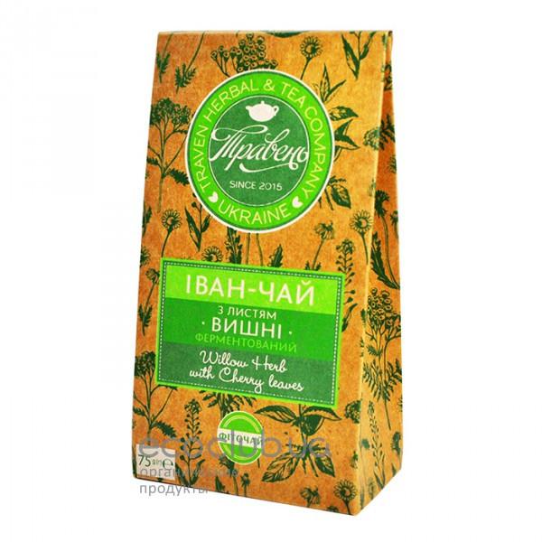 Фиточай Иван-чай с листьями вишни ТМ Травень 75г