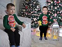 Новогодний детский свитшот, расцветки 6, 4-6 лет