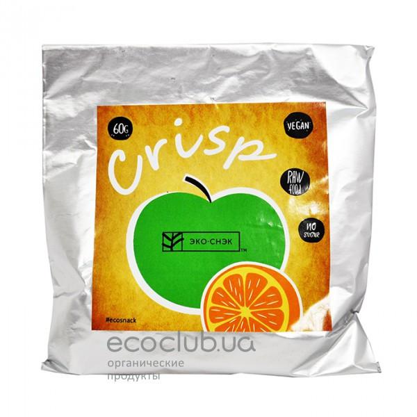 Конфеты Крисп Яблоко-апельсин ТМ Эко-снэк 60г