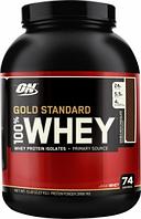 100% Whey Gold Standard Optimum Nutrition (протеин голд стандарт)  2270 г, США, пачка, vanilla ice cream