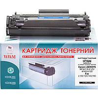 Картридж тонерный WWM для Canon MF4018/4120/4140 аналог FX-10 Black (LC26N)