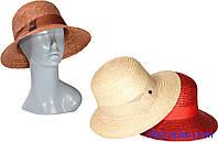 Шляпа соломенная женская классическая
