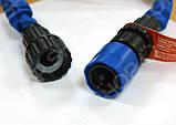 Шланг поливочный Xhose 15 метров, шланг с распылителем, фото 4