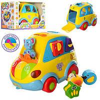 Автошка 9198 UA детская развивающая музыкальная игрушка на укр. языке