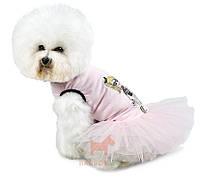 """Платье для собак """"Николь"""" (Pet Fashion) Природа (XXS)"""