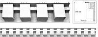 Карниз архитектурный/ Фасадная, интерьерная лепнина.