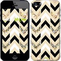"""Чехол на iPhone 5s Шеврон 10 """"3355c-21"""""""
