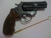 """Револьвер под патрон флобера Stalker 2.5"""" рукоять под дерево"""