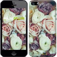 """Чехол на iPhone 5 Букет роз """"2692c-18-4848"""""""