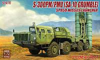 1:72 Сборная модель ПУ ЗРК С-300ПМ/ПМУ (SA-10 Grumble), Modelcollect UA72052
