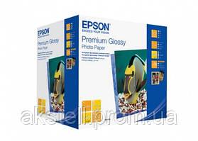 Бумага Epson 100mmx150mm Premium Glossy Photo Paper, 500л. (C13S041826)