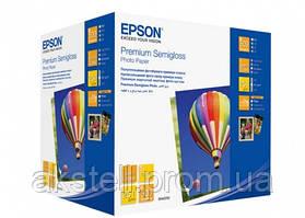 Бумага Epson 100mmx150mm Premium Semiglossy Photo Paper, 500л. (C13S042200)