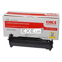 Картридж OKI EP-CART Yellow forC3300/ C3400, 15 000 Pages (43460205) EP-Cart-Y-C33/ 3400 (43460205)