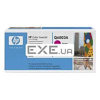 Картридж HP CLJ 124A Magenta, CLJ 1600/ 2600 (Q6003A)