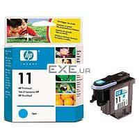 Печ. головка HP No.11 DesignJ10ps/ 500/ 800/ cp1700 cyan Голубая печатающая головка для Des (C4811A)
